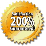 All of our Home Inspections are backed by our 200% Satisfaction Guarantee